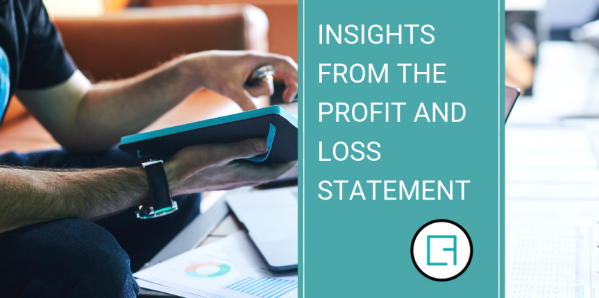 Insights from the Profit and Loss Statement