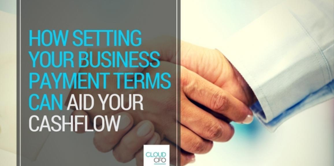 How Setting your Business Payment Terms can aid your Cashflow