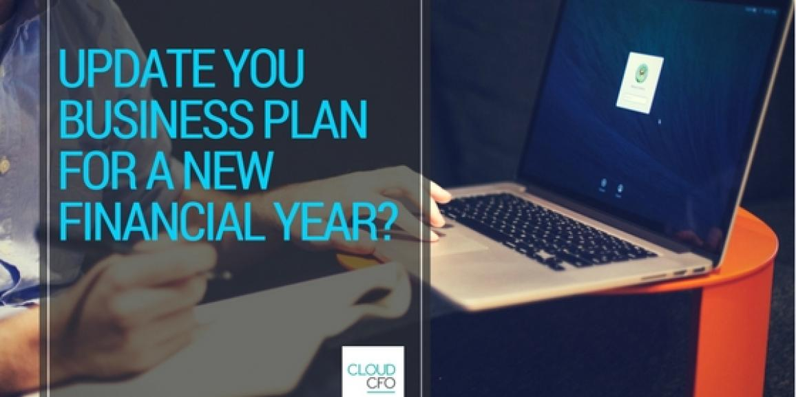 Update your business plan for a new financial year